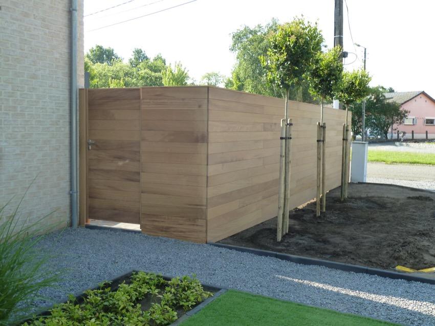 Poorten afsluitingen for Moderne afsluiting tuin