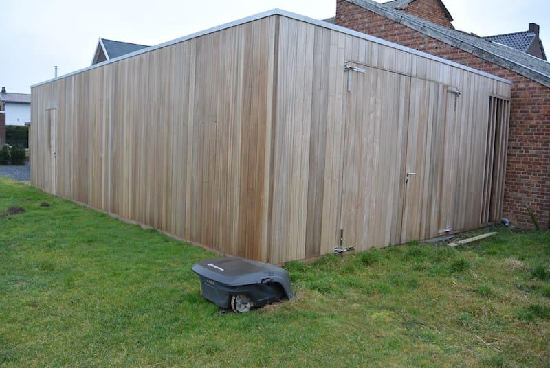 Moderne garagebox - tuinhuis in Thermo ayous